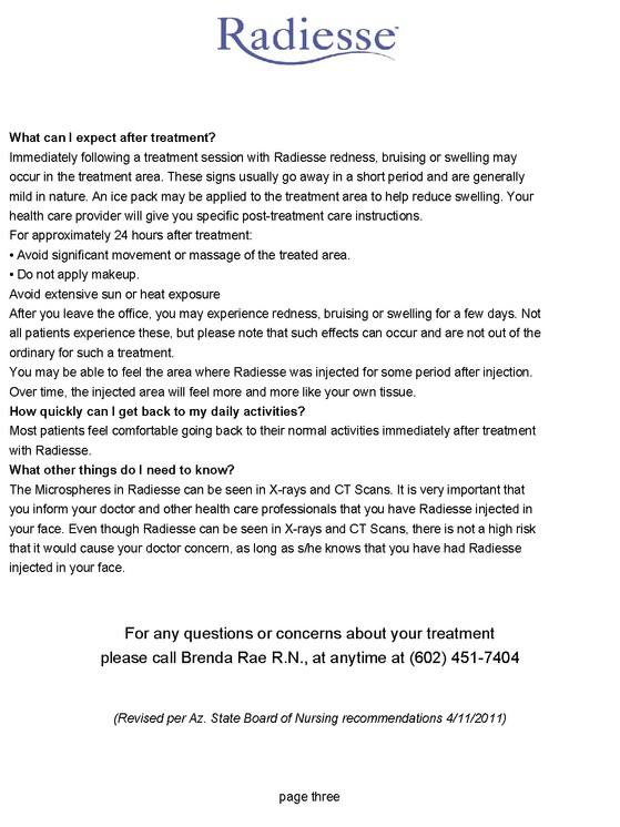 Botox, Beauty by Brenda Consents and Forms